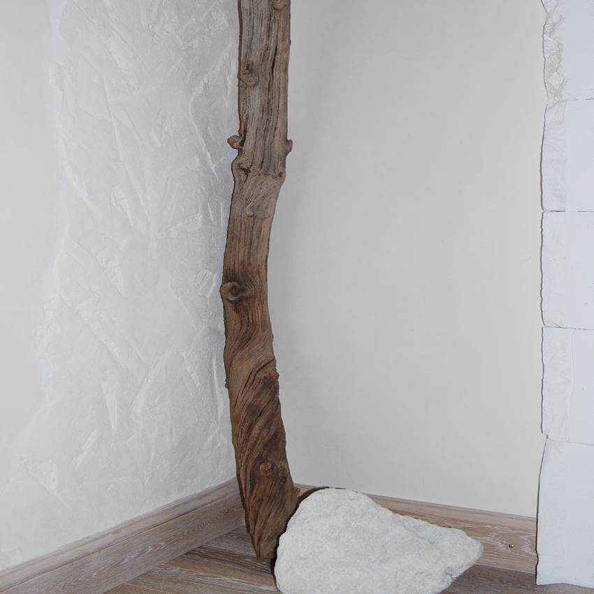 Lehmputz strukturiert, Wandgestaltung, Maler