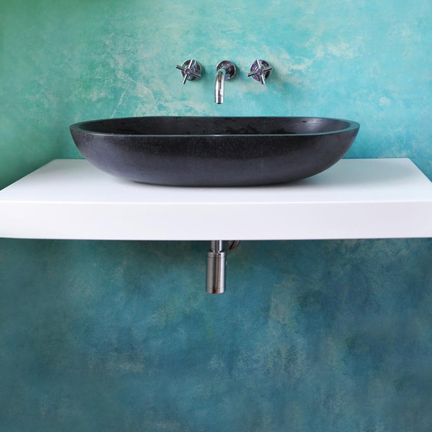 Fugenloses Bad, Bad-Sanierung, Wandgestaltung,