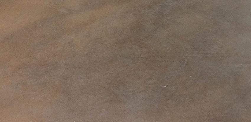 Bräunlicher fugenloser Boden, Fußboden gegossen und geschliffen