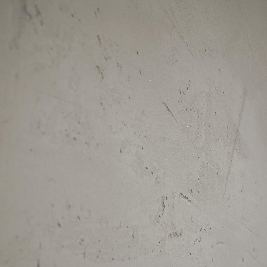 Lehmputz mit Struktur und Schichtsilkaten