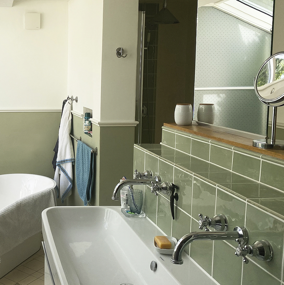 Badsanierung Oldenburg #Tadelakt #Fugenlose Badgestaltung